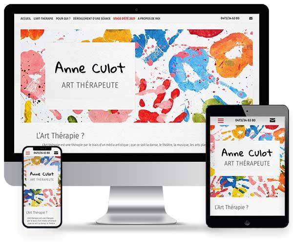 Anne Culot Art Thérapeute à Uccle