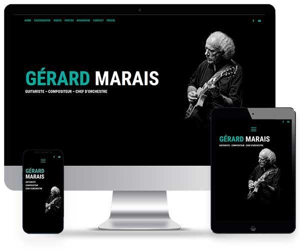 Gérard Marais musicien de jazz contemporain
