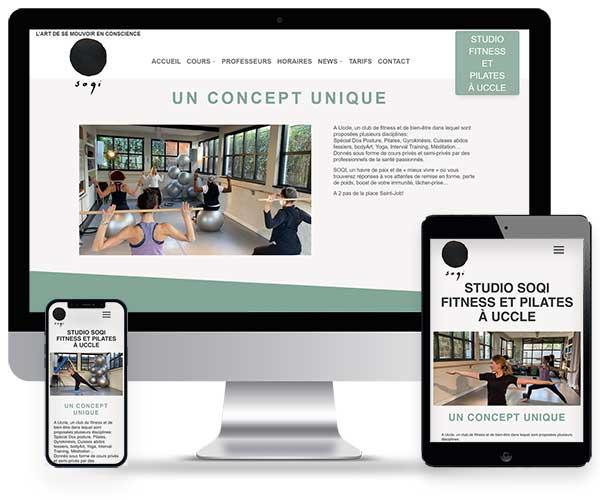 Soqi, A Uccle, un club de fitness et de bien-être