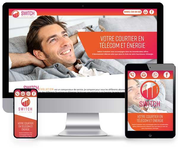 Switch évolution, comparateur d'abonnements Télécom et de fournisseurs d'énergie